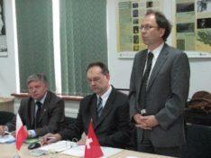 wizyta przedstawicieli Szwajcarii, Ministerstwa Rozwoju Regionalnego i Władzy Wdrażającej Programy Europejskie
