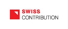 Logotyp Szwajcarsko-Polskiego Programu Współpracy Swiss Contribution