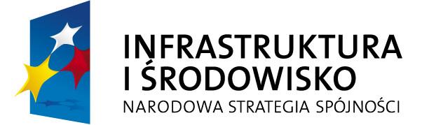 logotyp programu: Infrastruktura i Środowisko