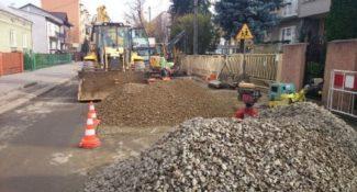 """rozpoczęcie robót budowlanych w ramach projektu """"Program poprawy czystości zlewni rzeki Wisłoki – Etap II"""""""