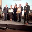 Zdjęcie osób nagrodzonych podczas Gali Międzynarodowego Kongresu Ochrony Środowiska ENVICON